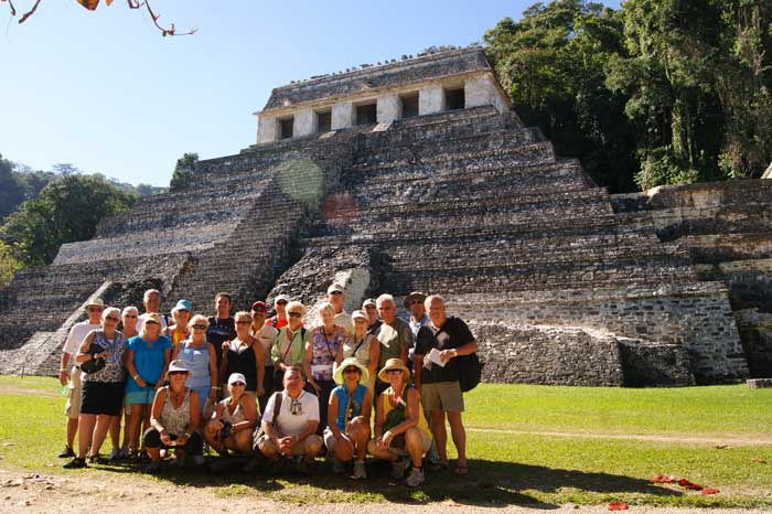 Group photo, Palenque