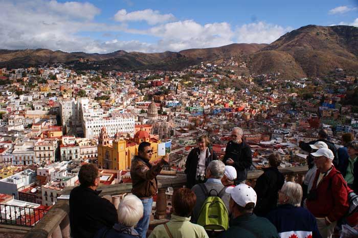 Panoramic viewpoint, Guanajuato